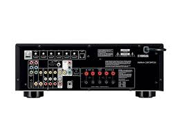 amazon com yamaha rx v477 5 1 channel network av receiver with