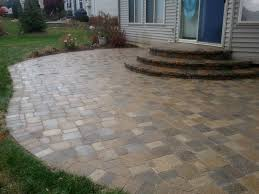 Slate Rock Patio by Designs With Patio Pavers Paving Stones Brick Pavers Think Pavers