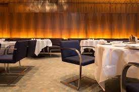 aby rosen to replicate four seasons restaurant furniture