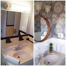 bathroom stencil ideas inspiring home decorating ideas stencils stencil stories