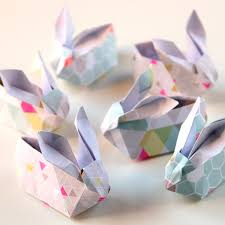 bunny baskets easter origami diy origami easter bunny baskets gathering beauty