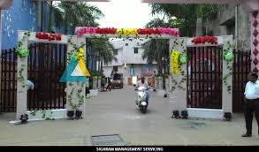 wedding arch entrance entrance arch decoration at avn mahal chengalpattu sigaram