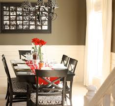 How To Paint A Dining Room Table by The Yellow Cape Cod Valentines Table With Christmas Decor