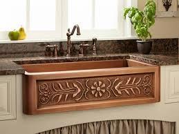 kitchen faucets copper sink faucet antique copper kitchen faucet and apron front