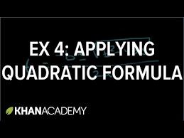 quadratic equations word problem algebra video khan academy