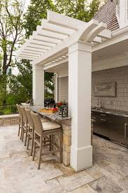 Outside Kitchen Ideas Best 25 Small Outdoor Kitchens Ideas On Pinterest Outdoor Grill