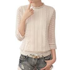 beautiful blouses 2017 graceful lace blouse transparent sleeve