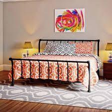 Metal Sleigh Bed Metal Sleigh Beds Ebay