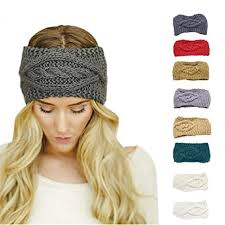 knitted headband knitted headband