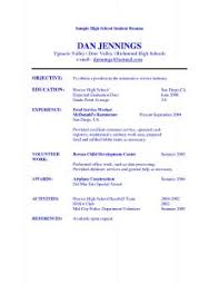Basic Sample Of Resume by Examples Of Resumes 93 Terrific Example A Professional Resume