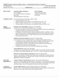 Resume Samples For College Students by A Good Resume Example College Student Templates