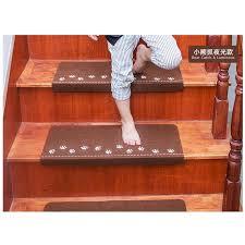 teppich treppe footprint leucht visuelle teppich treppenstufen pad