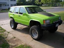 green jeep grand cherokee speedyshelby 1994 jeep grand cherokee specs photos modification