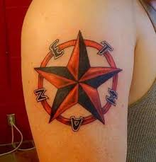 Nautical Star Tattoo Ideas 60 Stars Tattoos And Designs That Are Simply Wonderful 2017