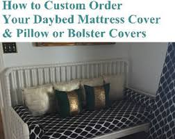 fitted daybed covers etsy