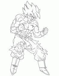 dragon ball z coloring pages goku super saiyan 4 coloringpagefor