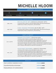 Artistic Resume Template Creative Formal Free Resume Template By Hloom Com Formatos Cv
