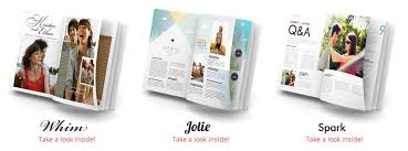 magazine wedding programs magazine wedding programs by twenty pages