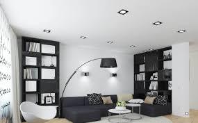 modern black bookshelf designs for small living room img28 home