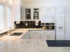White Kitchen Black Countertop - our 55 favorite white kitchens hgtv