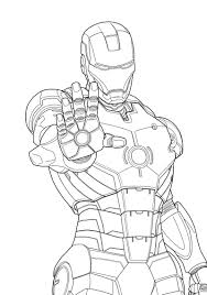 drawing de iron man a color free printable iron man coloring pages