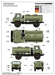 gaz 66 russian gaz 66 oil tanker 01018 1 35 series trumpeter china