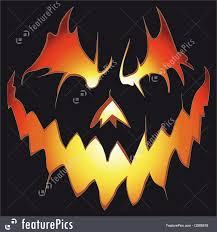 halloween background vector halloween scary pumpkin illustration