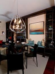 splendid traditional dining room featuring cool pendant lighting