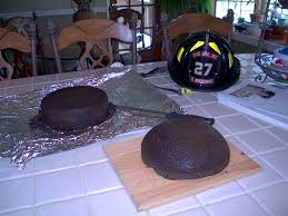 how to make a 3d fire helmet cake cake central community fire