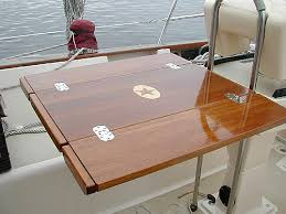 boat tables for cockpit cockpit tables by cruising concepts cruising concepts