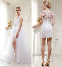 two wedding dresses 21 smart convertible wedding dresses happywedd convertible wedding