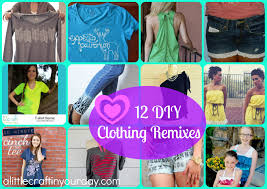 12 diy clothing remixes a little craft in your day