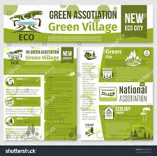 Garden Layout Template by Green Environment Association Templates Posters Landing Stock