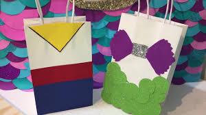 Birthday Favor Bags by The Mermaid Prince Diy Birthday Favor Bags