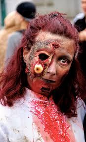zombie jesus halloween costume braaaaaains photo journal of the montreal zombiewalk