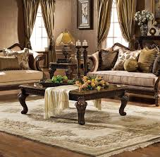hampton 5 pc living room set hampton 5 pcs living room set shown in antique walnut finish