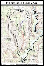 Bryce Canyon Map Pdf Behunin Canyon