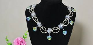 heart beaded necklace images Pearl jewelry design pandahall beads jewelry blog jpg