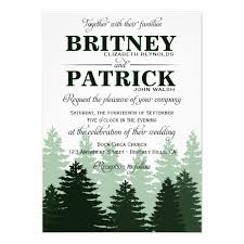 forest wedding invitations personalized enchanted forest wedding invitations
