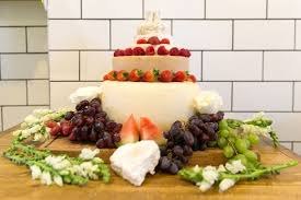 cheese wedding cake alternative wedding cakes
