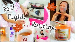 Home Spa Ideas by Fall Night Routine Pampering Spa Night At Home Youtube