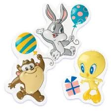 baby looney tunes bugs tweety u0026 taz pop cake topper
