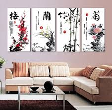 Large Oriental Wall Fans by Interesting 80 Oriental Wall Art Decorating Inspiration Of Best