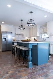 white kitchen cabinets with blue island modern white kitchen with blue kitchen island hgtv