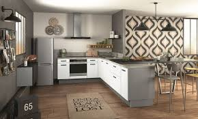 les cuisines à vivre cuisine design pas cher des modèles tendance à petits prix côté