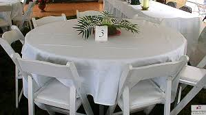 tablecloth for round table that seats 8 kitsap event rentals tents tables chairs more