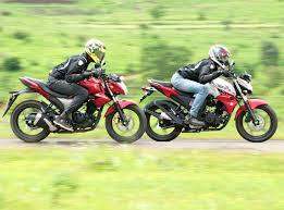 suzuki motorcycle green suzuki gixxer vs yamaha fz s v2 0 comparison autocar india
