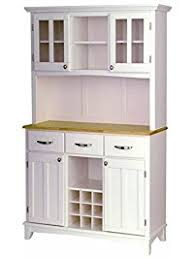 kitchen hutch furniture buffets and sideboards amazon com
