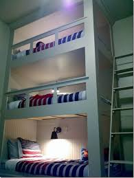Plans For Triple Bunk Beds by Best 25 Awesome Bunk Beds Ideas On Pinterest Fun Bunk Beds