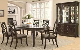 impressive decoration dining table set modern rectangular wood 7